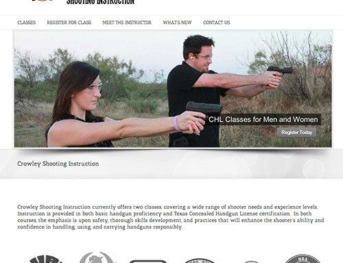 Crowley Shooting Instruction Website